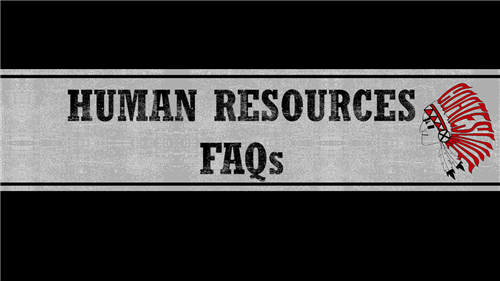 Human Resources FAQs