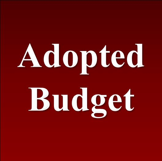 Adopted General Fund Budget 2018-2019